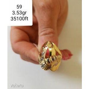 Arany gyűrű 14k kép