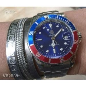 ÚJ !! ÓRA – SEWOR – Automata (The Rolex GMT- Master II Pepsi ) replika kép