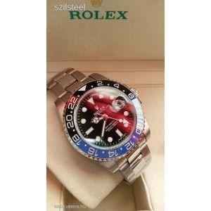 AAA Rolex GMT Master II Ceramic Automata repl. óra - ÚJ!! KÉSZLETKISÖPRÉS!! kép
