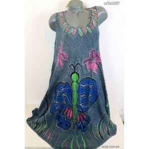 Gyönyörű pillangós lenge ruha (indiai)új!címkés kép
