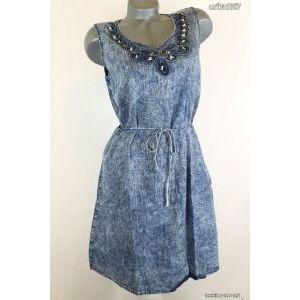 Farmerhatású csinos ruha M- új!címkés kép