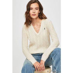 V-nyakú vékony pulóver kép