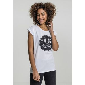 Mr. Tee Ladies Coca Cola Chinese Black Tee white kép