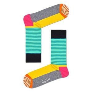 Happy Socks - Zokni Half Stripe kép