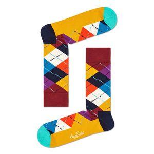 Happy Socks - Zokni Argyle kép