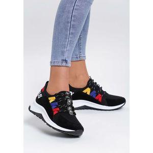 fekete női sportcipő kép