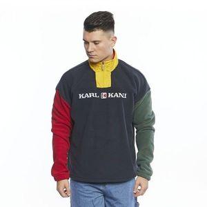 Sweatshirt Karl Kani Retro Block Troyer navy/red/green/yellow kép