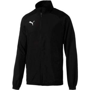 Puma LIGA SIDELINE JACKET fekete XXL - Férfi sportkabát kép