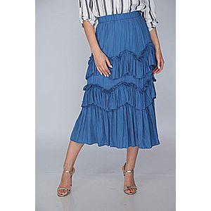 Italy Fashion fodros szoknya kép