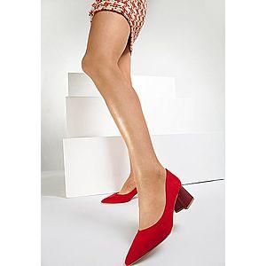 Salma piros magassarkú cipők kép