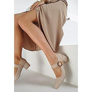 Corsa bézs magassarkú cipők kép