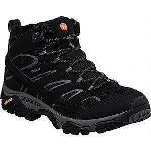 Merrell MOAB 2 MID GTX fekete 11.5 Férfi outdoor cipő