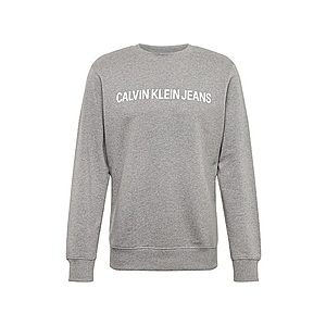 Calvin Klein Jeans Tréning póló szürke / fehér kép