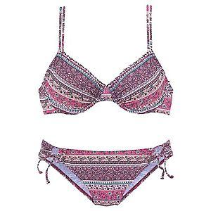 s.Oliver Bikini benzin / bogyó / rózsaszín / neon-rózsaszín kép
