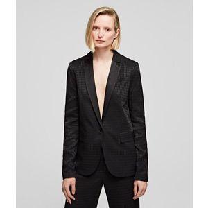 Zakó Karl Lagerfeld Jacket W/Karl Head Jacquard kép