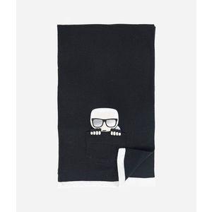 Sál Karl Lagerfeld K/Ikonik Pocket Knit Scarf kép
