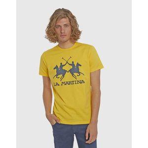 Póló La Martina Man S/S Cotton Jersey T-Shirt kép
