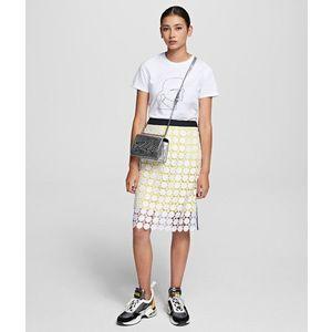 Szoknya Karl Lagerfeld Karlcircle Lace Skirt kép