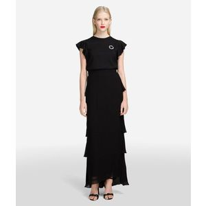 Szoknya Karl Lagerfeld Layered Ggt Maxi Skirt kép