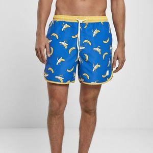 Furdo Gatya Urban Classics Pattern Retro Swim Shorts banana aop kép