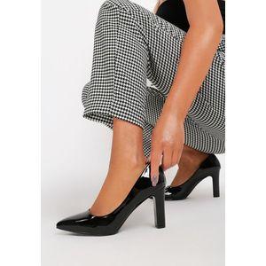 Devina fekete magassarkú cipők kép