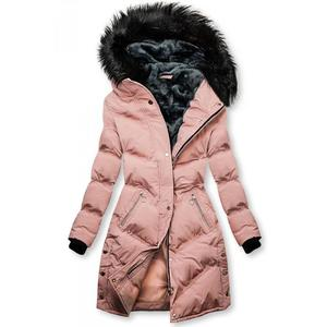 Női téli kabát cipzáras steppelt szürke (33 db) Divatod.hu