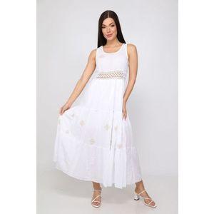 Italy Fashion madeirás maxi ruha kép