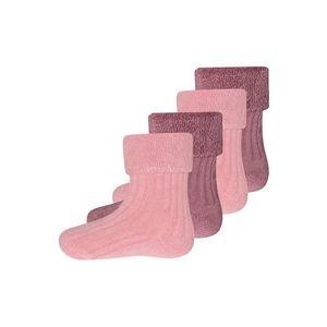 EWERS Zokni rózsaszín / sötét-rózsaszín kép