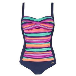 LASCANA Alakformáló fürdőruha vegyes színek kép