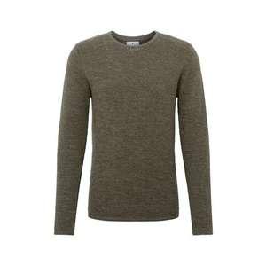 Férfi pulóver khaki kép