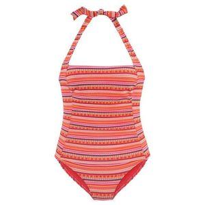 LASCANA Alakformáló fürdőruha narancs / vegyes színek kép
