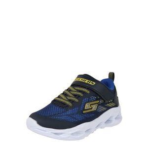 SKECHERS Sportcipő tengerészkék / kék / sárga kép