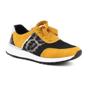 sárga női cipő kép