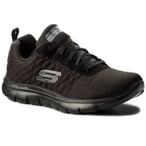 Cipők SKECHERS - Break Free 12757/BBK Black kép