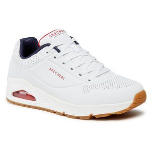 Sportcipő SKECHERS - Stand On Air 52458/WNVR White/Navy/Red kép