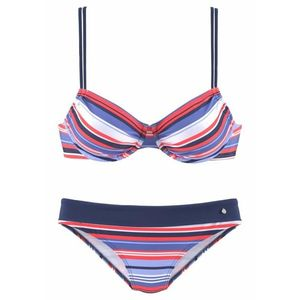 s.Oliver Bikini piros / fehér / kék kép