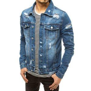 Dstreet Trendi kék farmer dzseki kép