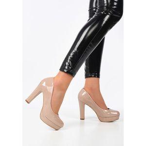 Dorearia rózsaszín magassarkú cipők kép