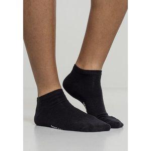 Urban Classics Logo No Show Socks 5-Pack black kép