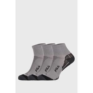 FILA Multisport uniszex zokni szürke, 3 db 1 csomagban kép