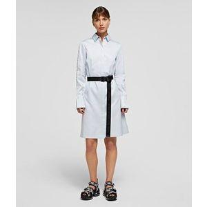 Ruha Karl Lagerfeld Chintz Poplin Shirt Dress kép
