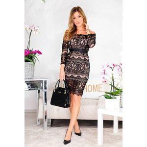 Italy Fashion csipkés alkalmi ruha kép