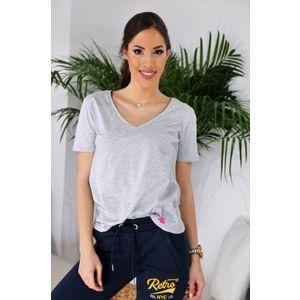 Retro Jeans -Nahla- rövid ujjú lezser női felső kép