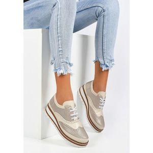Laurie aranyszínü női oxford cipő kép