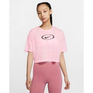 Nike Dri-Fit Haspóló Rózsaszín kép