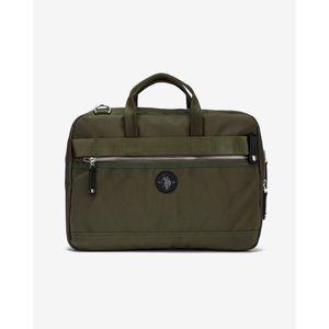 U.S. Polo Assn Waganer Laptop táska Zöld kép