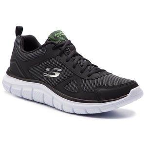 Cipő SKECHERS - Bucolo 52630/BKW Black/White kép