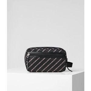 Kozmetikai Táska Karl Lagerfeld K/Stripe Logo Nylon Washbag kép