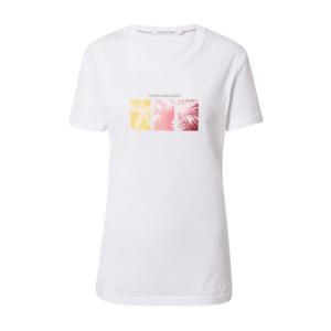 Calvin Klein Jeans Póló rózsaszín / fekete / fehér kép