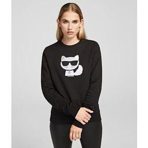 Melegítő Felső Karl Lagerfeld Ikonik Choupette Sweatshirt kép
